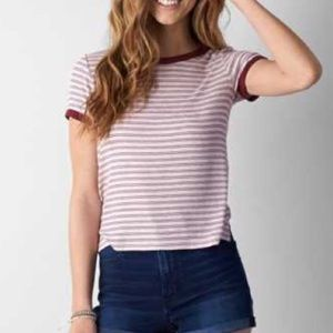Soft and sexy striped baby t-shirt